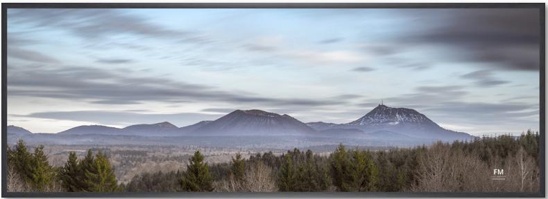panoramique 33*95 + cadre alu