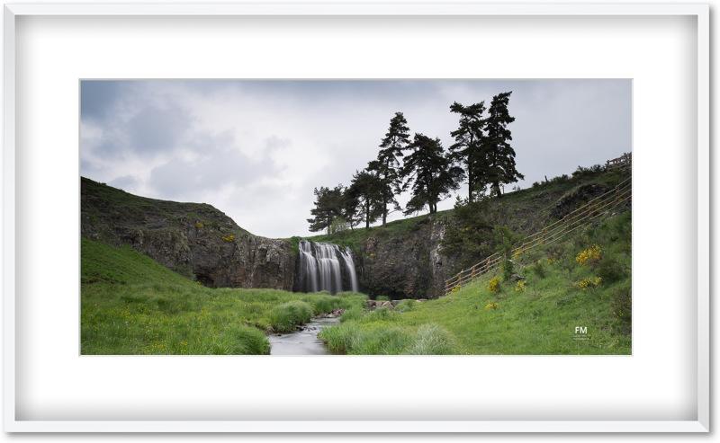 Cascade des Veyrines près d'Allanche