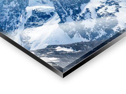 Tirage photo contre-collé entre une plaque de plexiglass et d'aluminium-Dibond
