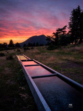 Sunset par un soir d'été | www.franckmaillet.com