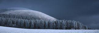 Décoration de votre intérieur par un panorama sensuel de monts proches du sancy